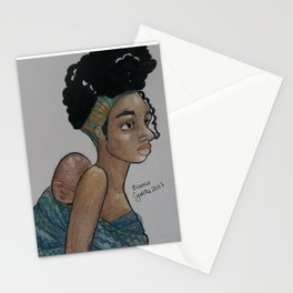 mother's love #1 Stationery Cards