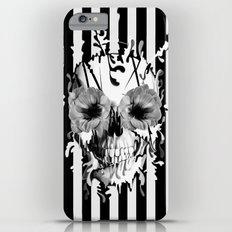 Limbo, Skull with poppy eyes iPhone 6 Plus Slim Case