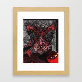 Wolfie Framed Art Print