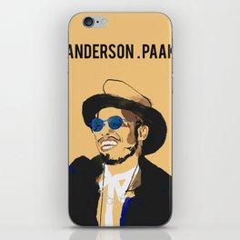 Anderson .Paak iPhone Skin