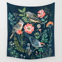 Birds Garden Wall Tapestry