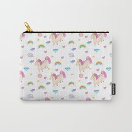 Pretty unicorn pattern Carry-All Pouch