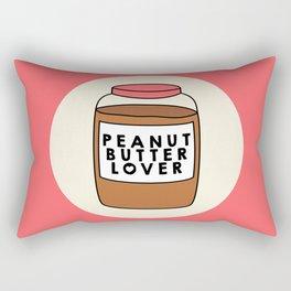 Peanut Butter Lover Rectangular Pillow
