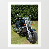 motorbike Art Prints featuring Motorbike by Imager