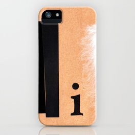 Shades of black iPhone Case