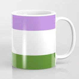 Genderqueer Pride Flag Coffee Mug