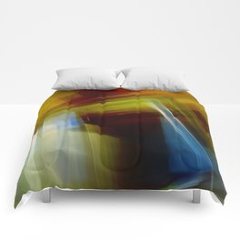 Abstract Composition 420 Comforters
