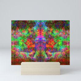Kamana II (abstract, psychedelic, visionary) Mini Art Print