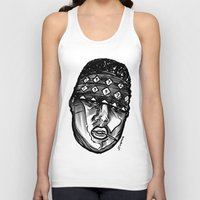 biggie smalls Tank Tops featuring Biggie Smalls Life and Death by sketchnkustom