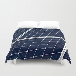Solar power panel Duvet Cover