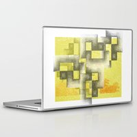 labyrinth Laptop & iPad Skins featuring Labyrinth by Sally Rud