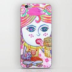 LeeLoo the Icecream Thief iPhone & iPod Skin