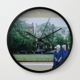 Laverne and Shirley Wall Clock