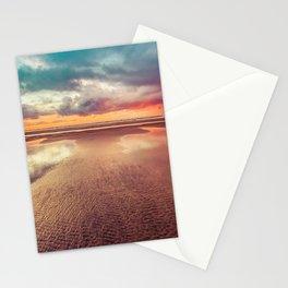 Beach Love Ocean Sunset Stationery Cards