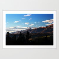 Peruvian Sunrise Art Print