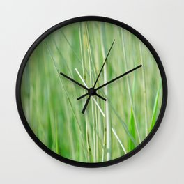 In the Long Grass Wall Clock