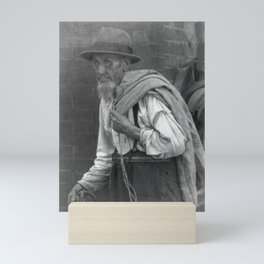 Doris Ulmann 1882-1934, Old man with empty sack, no. 1 Mini Art Print