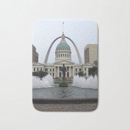 St. Louis arch Bath Mat