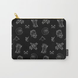Dark N' Old School Carry-All Pouch