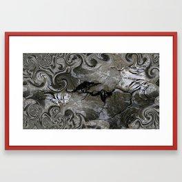 Cave Dweller Framed Art Print