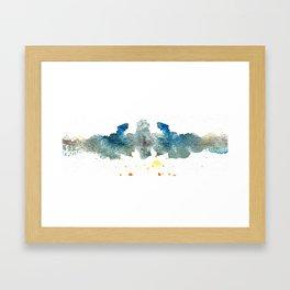 Ink Swell I Framed Art Print