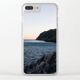 Over Sea Clear iPhone Case