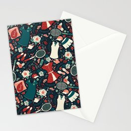Tennis Style Stationery Cards
