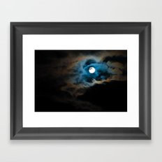 Bad Moon Framed Art Print