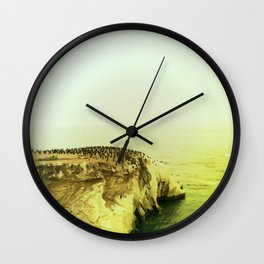 Shell Beach Wall Clock