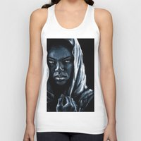 african Tank Tops featuring African by elenachukhriy