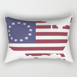 Stand up for Betsy Ross Rectangular Pillow