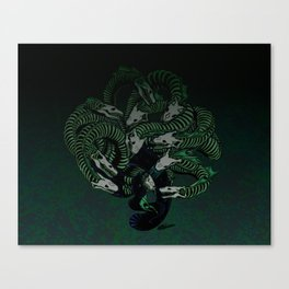 Lonely Hydra Canvas Print