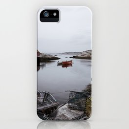 Peggy's Cove, NS iPhone Case