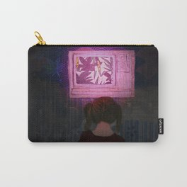 TV at midnight Carry-All Pouch