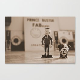 Stan & Charlie Canvas Print