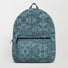 Kaleidoscopic vintage endpaper Backpack