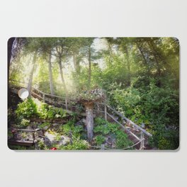 Jefferson City Montana - Secret Lives In The Trees Cutting Board