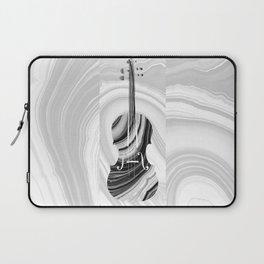 Marbled Music Art - Violin - Sharon Cummings Laptop Sleeve