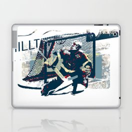 Goalie - Ice Hockey Player Laptop & iPad Skin