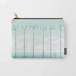 Palm Summer Carry-All Pouch