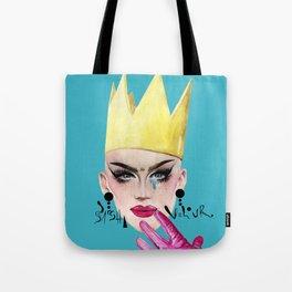 Queen Velour Tote Bag