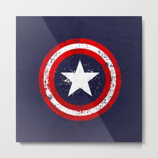 Captain's America splash Metal Print