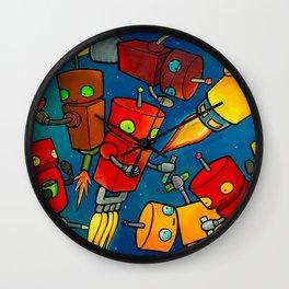 Robot - Robot Party 2 (Zero Gravity) Wall Clock