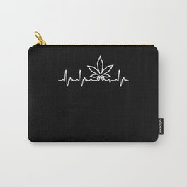 Heart For Weed Carry-All Pouch