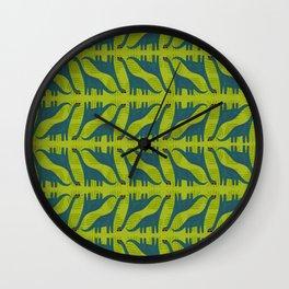 You're Dino-mite! Dinosaur Wall Clock