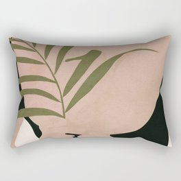 Little Leaf Behind my Back Rectangular Pillow