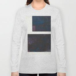 Deep blue Long Sleeve T-shirt