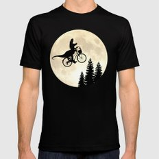Close Encounters Mens Fitted Tee Black LARGE