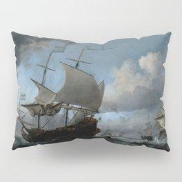 """Willem van de Velde """"The Dutch Fleet Assembling"""" Pillow Sham"""