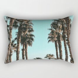Palm Tree Days {1 of 2} Tropical Cali Art Print Rectangular Pillow